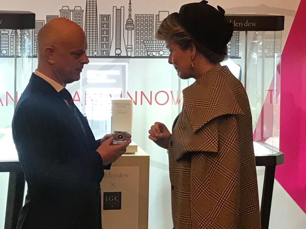 Belgian royal couple launches special cut by IGC Group - IGC Group